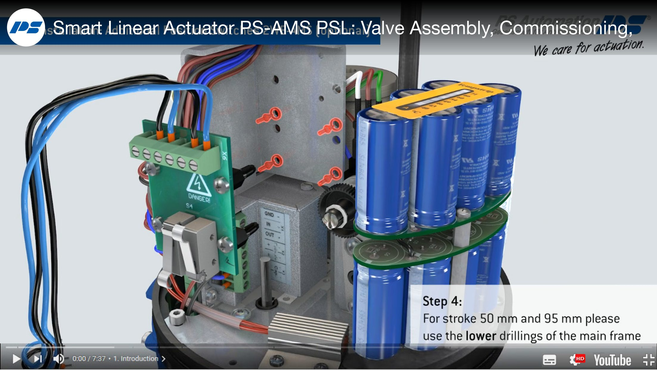 Brand new 3D animation tutorial: PS-AMS PSL