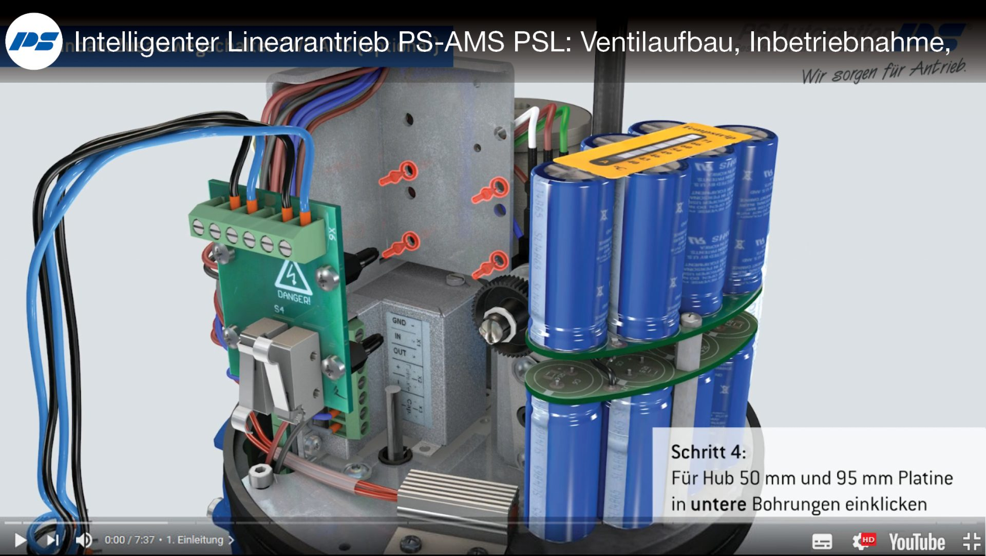 Brandneues 3D-Animations-Tutorial: PS-AMS PSL